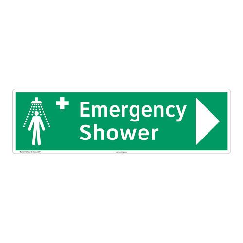 Emergency Shower Sign (F1039-)