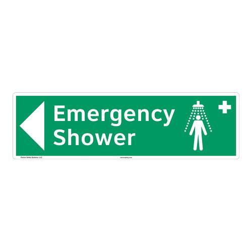 Emergency Shower Sign (F1040-)