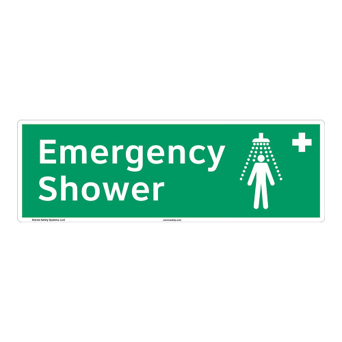 Emergency Shower Sign (F1041)