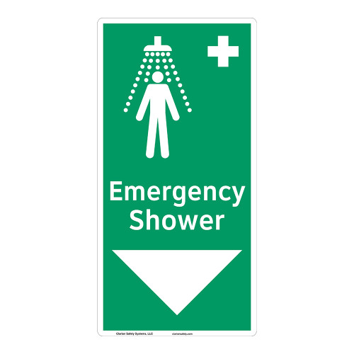 Emergency Shower Sign (F1042-)