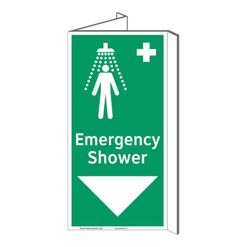 Emergency Shower Sign (F1042P-)