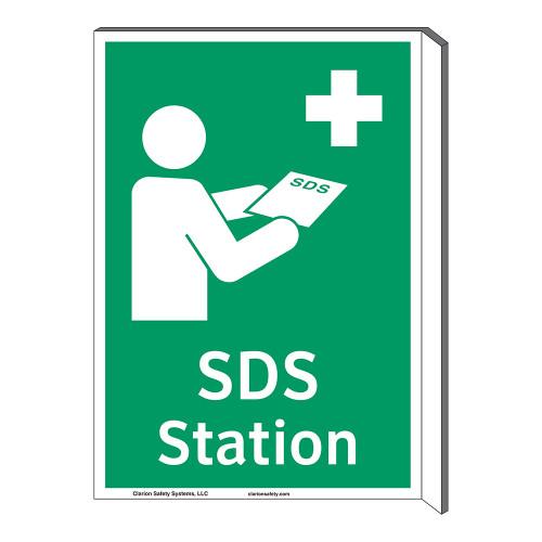 SDS Station Sign (F1043F-)
