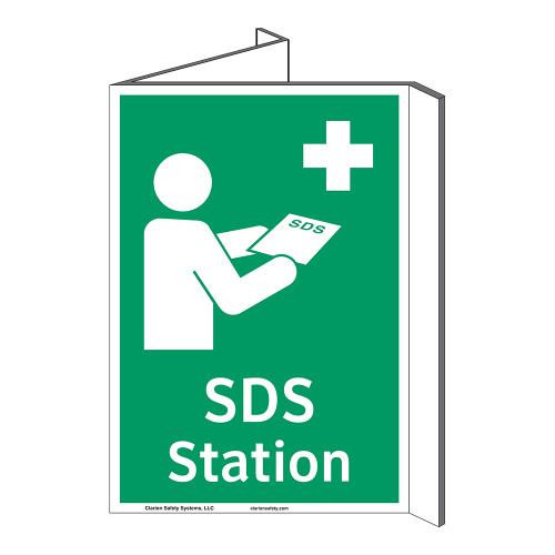 SDS Station Sign (F1043P-)