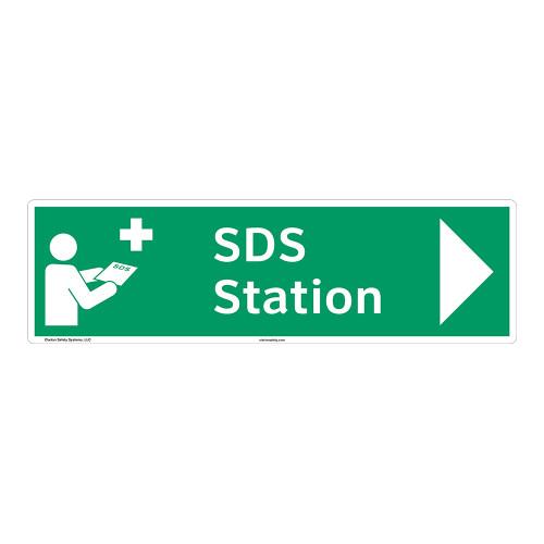 SDS Station Sign (F1044-)