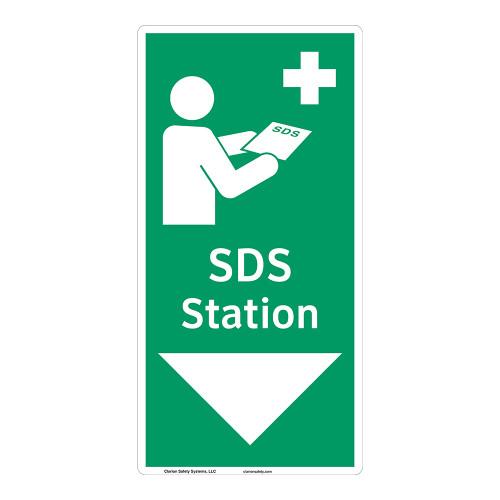 SDS Station Sign (F1047-)