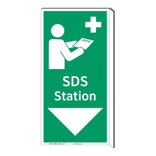 SDS Station Sign (F1047F-)