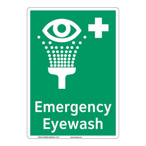 Emergency Eyewash Sign (F1048-)