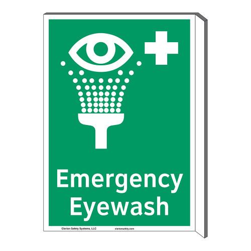 Emergency Eyewash Sign (F1048F-)