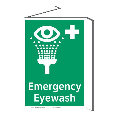 Emergency Eyewash Sign (F1048P-)