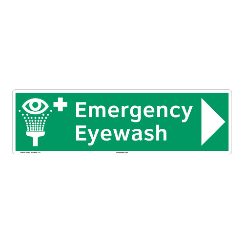 Emergency Eyewash Sign (F1049-)