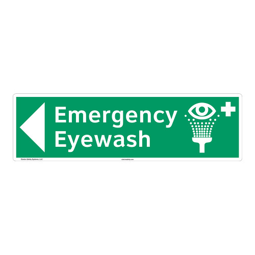Emergency Eyewash Sign (F1050-)