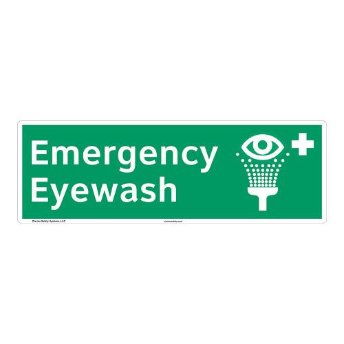 Emergency Eyewash Sign (F1051)