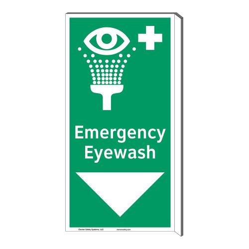 Emergency Eyewash Sign (F1052F-)