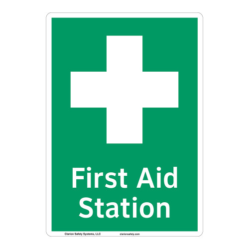 First Aid Station Sign (F1053-)