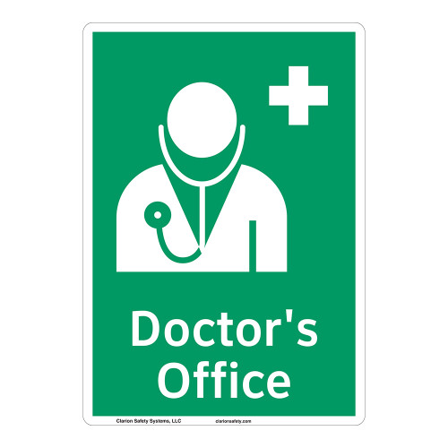 Doctors Office Sign (F1058-)