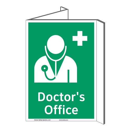 Doctors Office Sign (F1058P-)