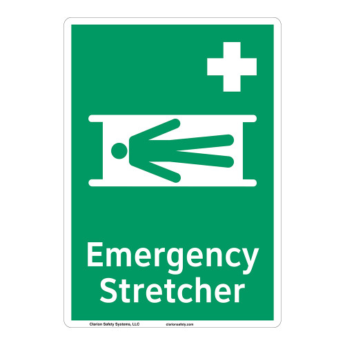 Emergency Stretcher Sign (F1063-)