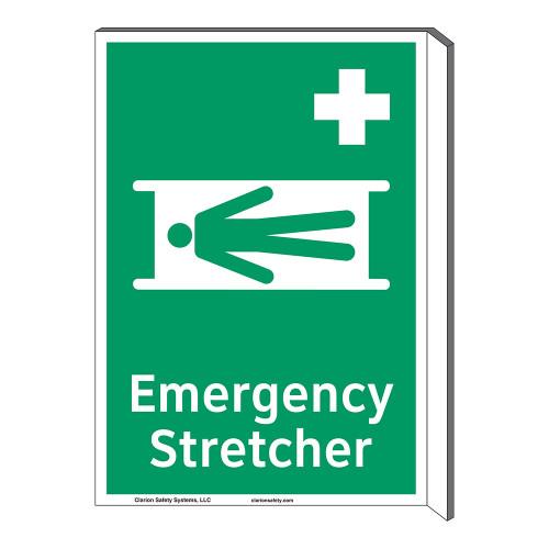 Emergency Stretcher Sign (F1063F-)