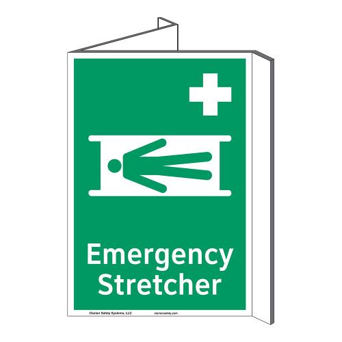 Emergency Stretcher Sign (F1063P-)