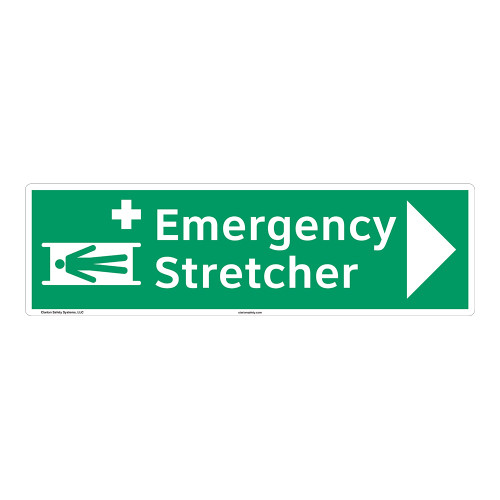 Emergency Stretcher Sign (F1064-)