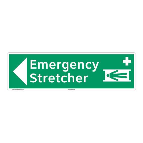 Emergency Stretcher Sign (F1065-)