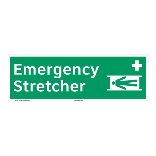 Emergency Stretcher Sign (F1066)