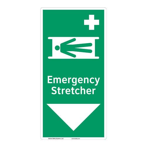 Emergency Stretcher Sign (F1067-)
