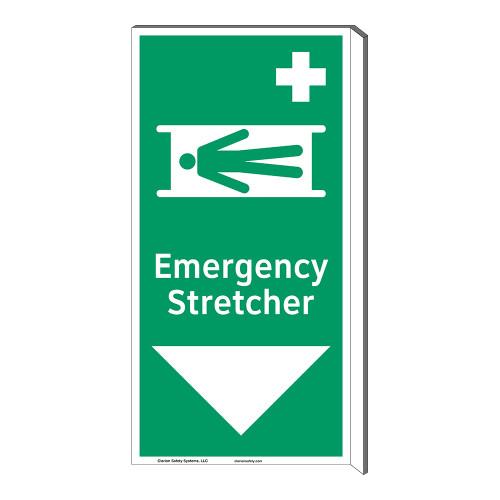 Emergency Stretcher Sign (F1067F-)