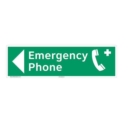 Emergency Phone Sign (F1070-)