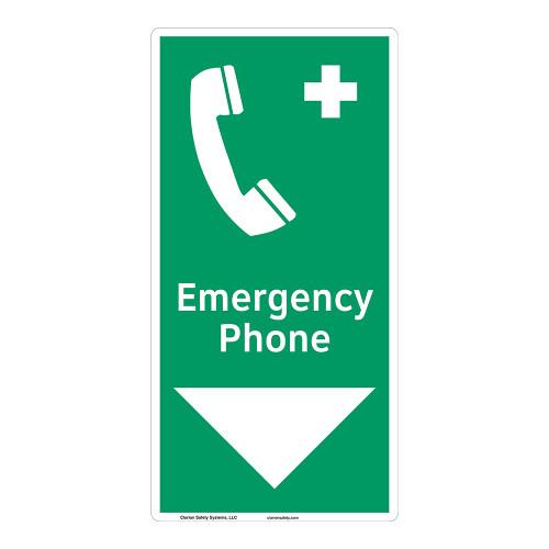 Emergency Phone Sign (F1072-)