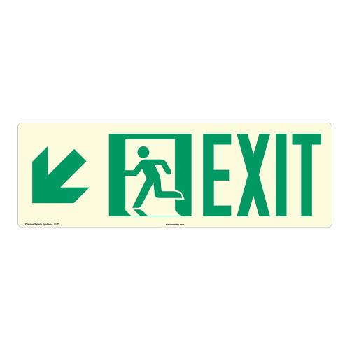 Exit Sign (F1077)