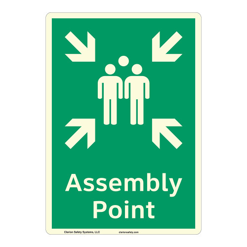 Assembly Point Sign (F1087-)