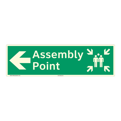 Assembly Point Sign (F1089-)