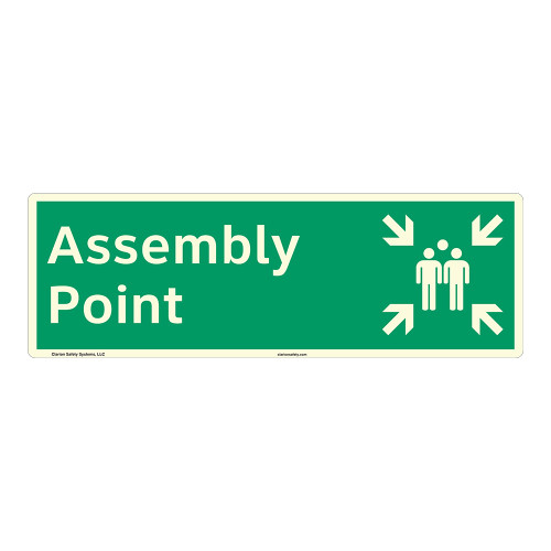 Assembly Point Sign (F1090)