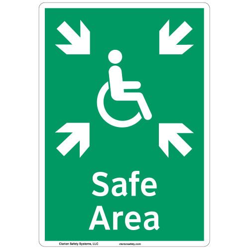 Safe Area Sign (F1092-)