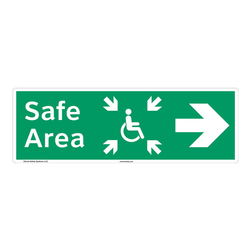 Safe Area Sign (F1093-)