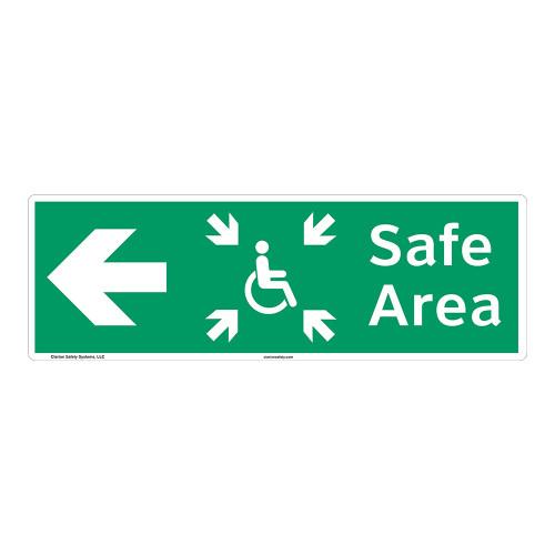 Safe Area Sign (F1094-)