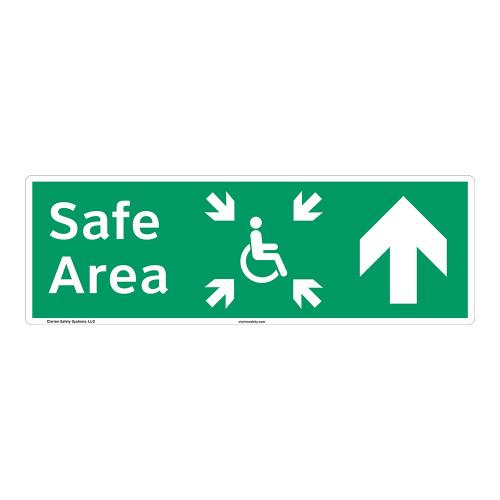 Safe Area Sign (F1095-)