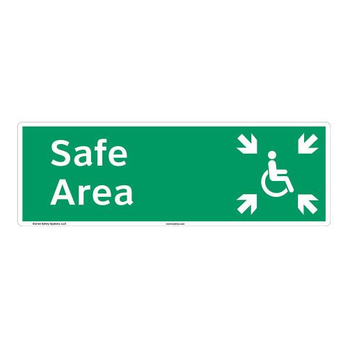Safe Area Sign (F1096-)