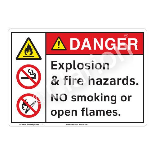 Danger/Explosion Sign (F1158-)
