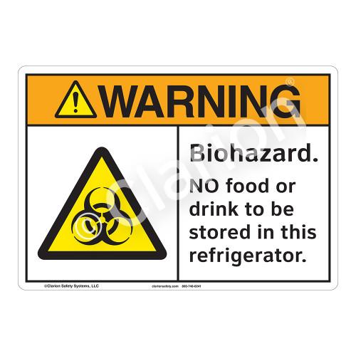 Warning Biohazard Sign (F1182-)