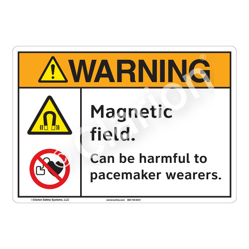 Warning/Magnetic Field Sign (F1234-)