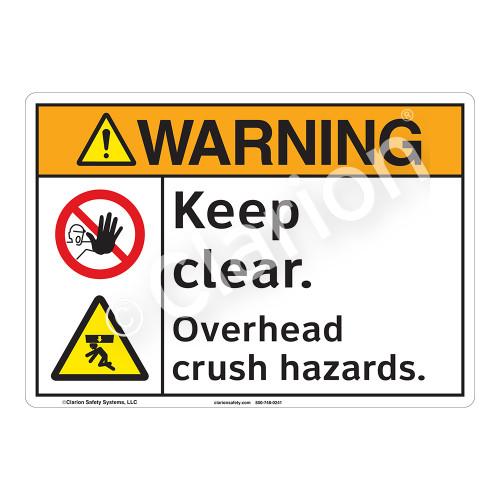 Warning/Keep Clear Sign (F1248-)