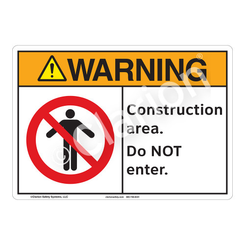 Warning/Construction Area Sign (F1251-)