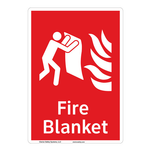 Fire Blanket Sign (F1271-)