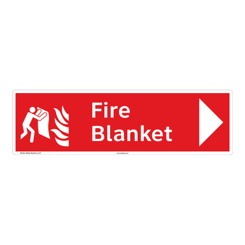 Fire Blanket Sign (F1272-)