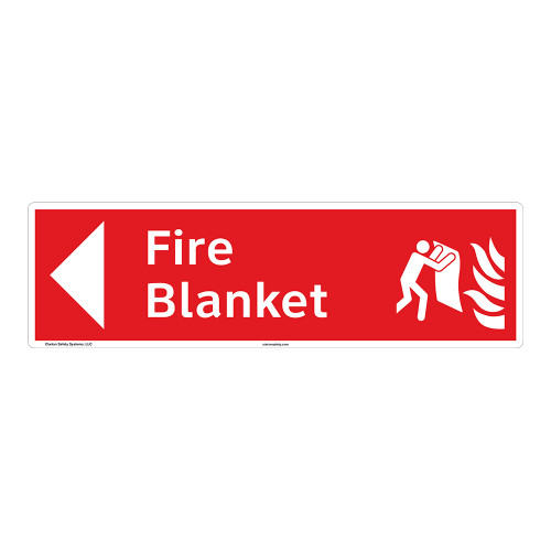 Fire Blanket Sign (F1273-)