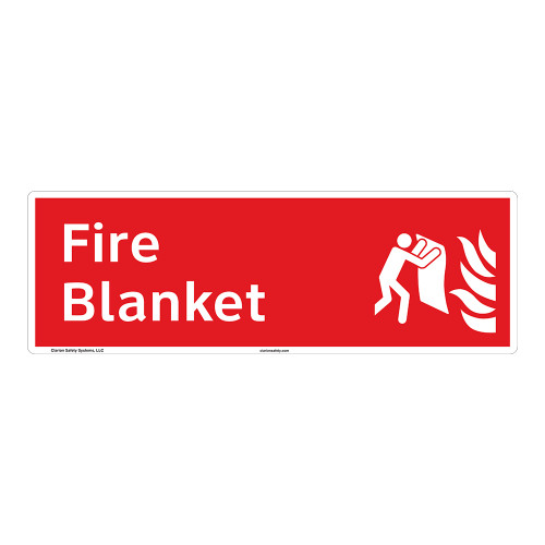 Fire Blanket Sign (F1274-)