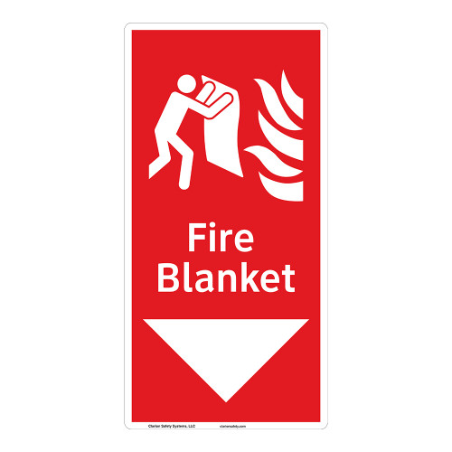 Fire Blanket Sign (F1275-)