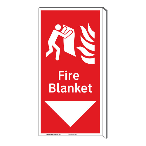 Fire Blanket Sign (F1275F-)